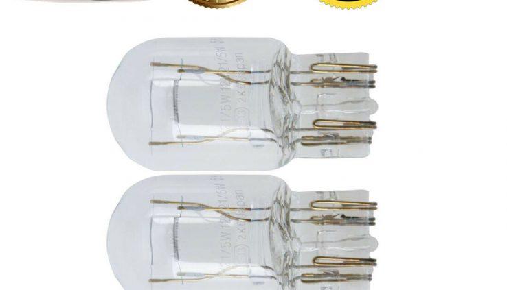 2 Philips Habitual Bulbs (7443) Tail Lamp Bulb Pair Miniatures Lamp