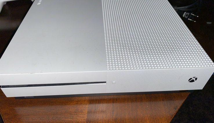 Microsoft Xbox One S 1TB Console – White