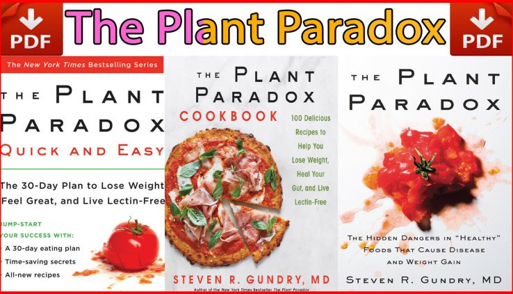 The Plant Paradox Sequence 3 Books Area By Steven R. Gundry | P.D.F