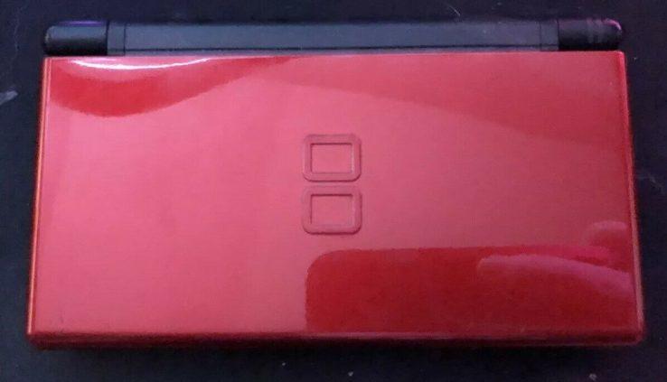 Nintendo DS Lite Crimson Crimson/Unlit Handheld System