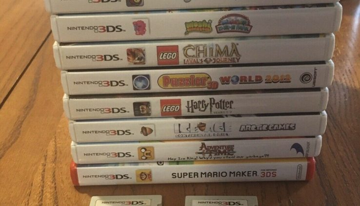 Nintendo 3DS DS 2DS Video Game Cartridge Lot – Safe Condition – You Safe!