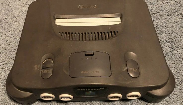 Nintendo 64 N64 Murky Gaming Console NO Jumper Pak – CONSOLE ONLY