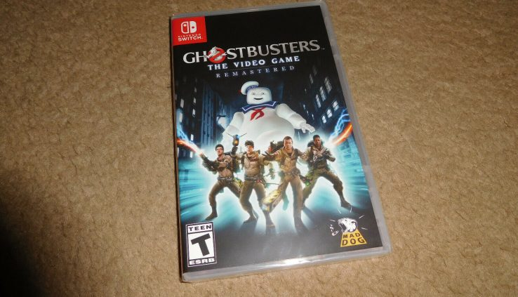 GHOSTBUSTERS The Video Sport REMASTERED Nintendo Swap BRAND NEW FACTORY SEALED!