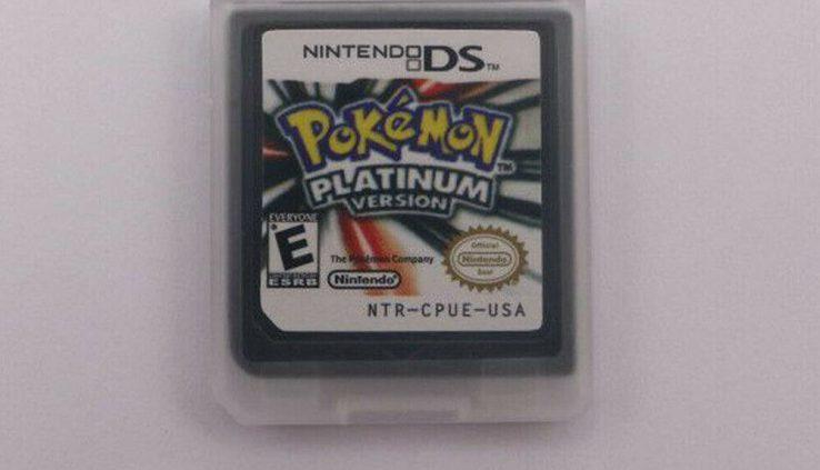 New Pokemon Platinum Version Game Card For Nintendo 3DS NDSI NDS NDSL Lite Reward
