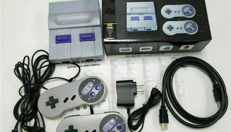 USA HDMI Immense NES Traditional Model Console SNES Mini SFC Retro Constructed-in 821 Game