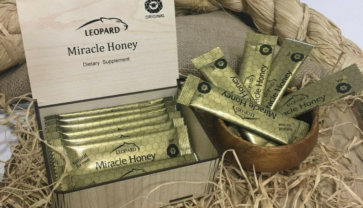 Leopard Miracle Honey Dietary Supplement. Easiest Sign! $29.ninety 9 Free transport!