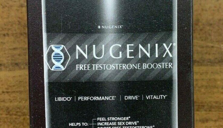 Nugenix Free Testosterone Booster – 42 Capsules Original Sealed Free Transport