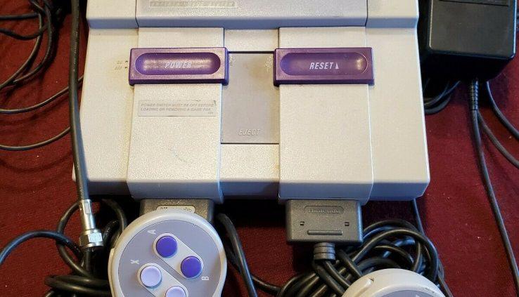 Salubrious nintendo console. 1 Sport Included