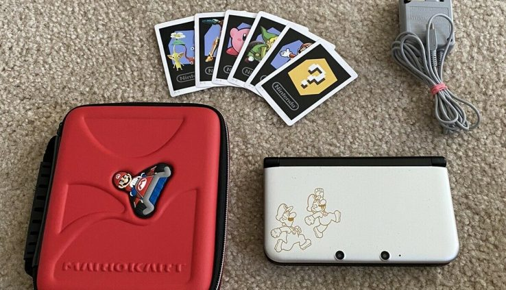 Nintendo 3ds XL (Mario And Luigi Dream Crew Edition)