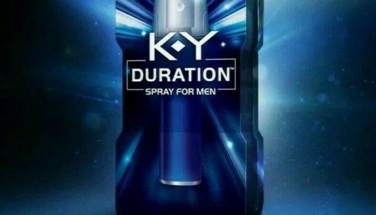 KY Duration Spray for Males, Remaining Longer, 100 sprays 0.36 fl oz.EXP 10/18