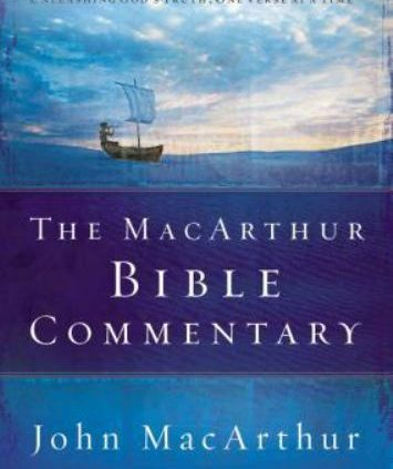 MACARTHUR 1 VOLUME BIBLE COMMENTARY – MacArthur, John