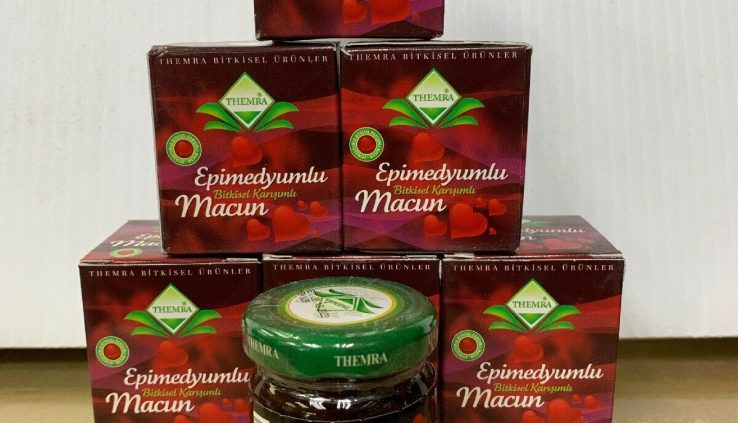 Themra Epimedium Paste Eplmedyumlu Macun 100% Natural Aphrodisiac Erection