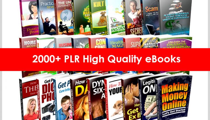 2000 Ebooks Sequence with Grasp Resell Rights PDF 6GB Package