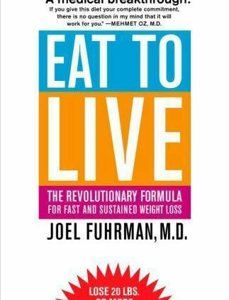 EAT TO LIVE Joel Fuhrman FREE SHIPPING paperback e book wholesome expeditiously weight loss