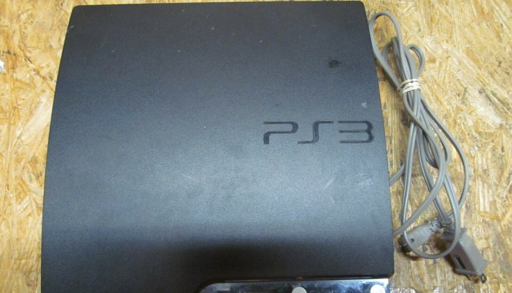 Sony PlayStation 3 (CECH-2501A) PS3 160 GB Console + STUFF (Lot 3140)