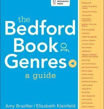 The Bedford E book of Genres: A Files