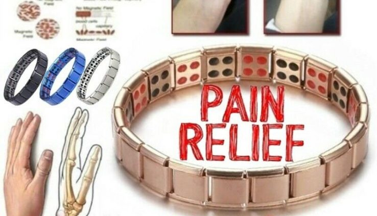Ladies Males Smartly being Energy Bracelet Magnetic Therapy Smartly being Care Effort Relief Bangle