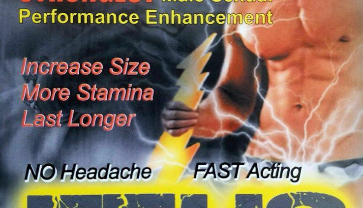 Zeus Plus Male Sexual Enhancement (4 Pills)