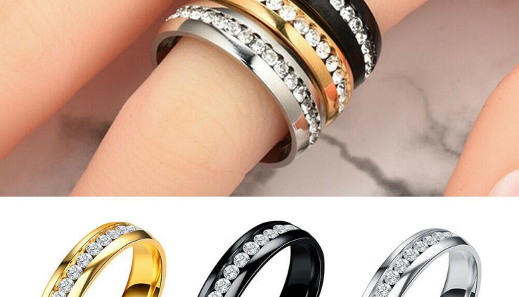 Health Care Weight Loss Corpulent Burning Slimming Magnetic Ring Rhinestone Placing