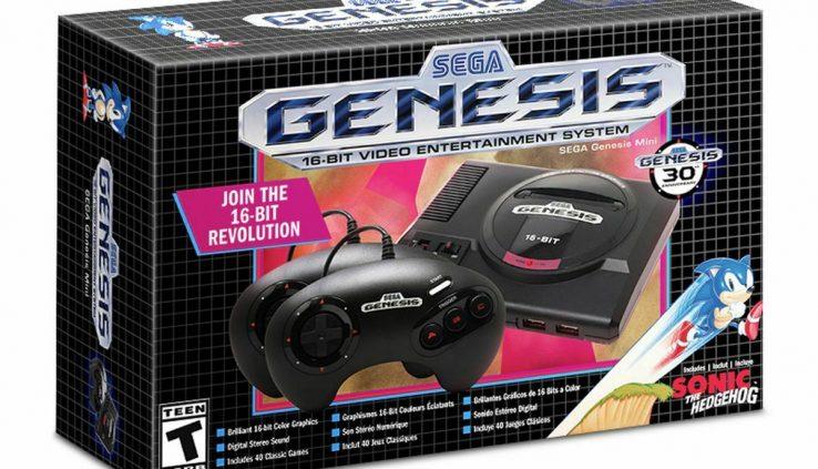 SEGA Genesis Mini Sport Console – Gloomy- SG-10037-2