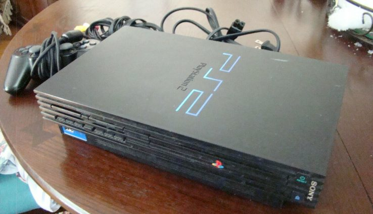 Sony Ps2 PS2 Console Video Game Plot Total Mannequin SCPH-39001 READ!