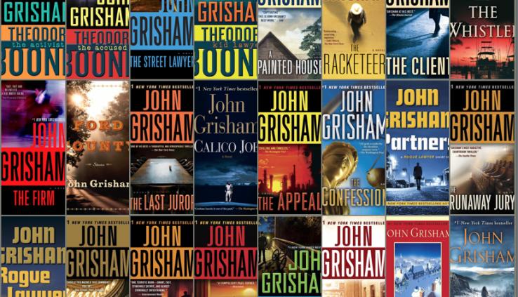 John Grisham (40 Novels) Build of dwelling Series 📚🔥⭐[P.D.F & MOBI & EPUB]