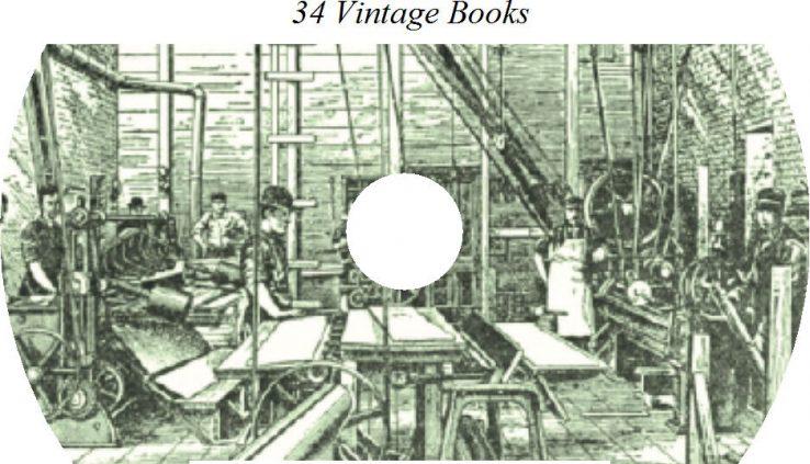 34 Books on CD, Final Library on Sheet Metal, Metalwork Pattern Drafting
