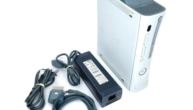 Microsoft Xbox 360 White 60GB Console System (Jasper, HDMI) w/ Energy