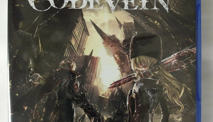 Code Vein Sony PlayStation 4 PS4 2018 Brand New Factory Sealed