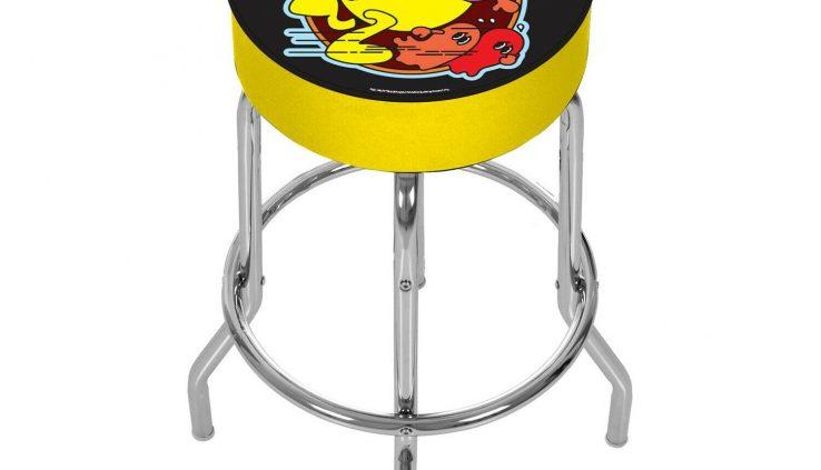 Arcade1Up – Pac-Man Adjustable Stool [Brand New]