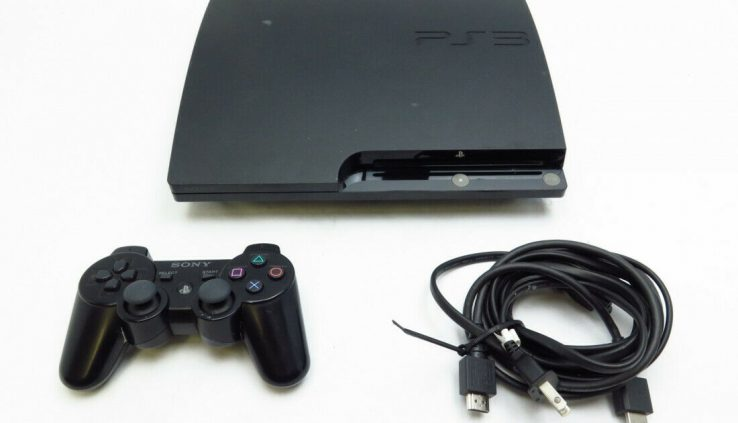 Sony CECH2001A PlayStation 3 Slim Black 120GB – 9818