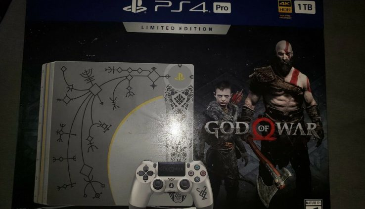 Sony PlayStation 4 Pro 1TB Console Bundle with God of War Small Version – Lev…