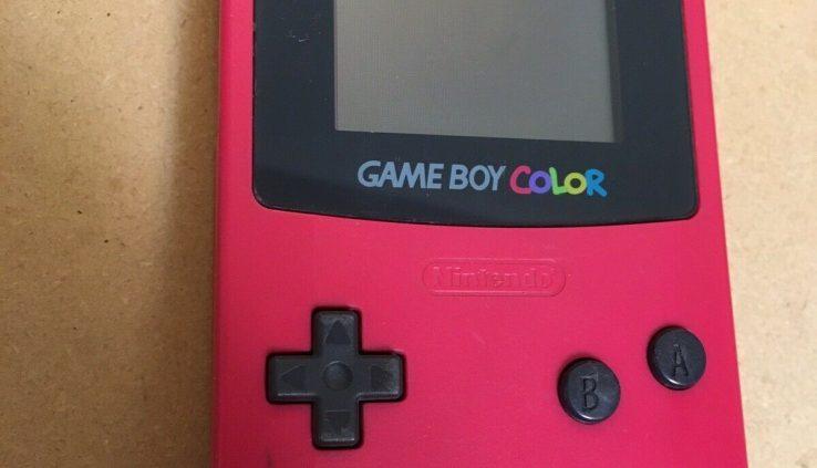 Sport Boy Color Nintendo GBC Examined Works