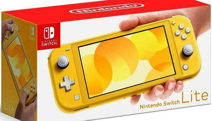 Nintendo Swap Lite – Yellow