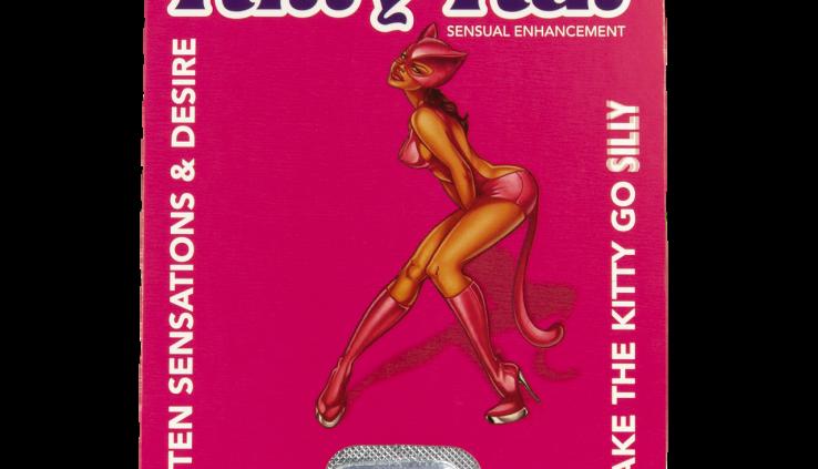 KITTY KAT FEMALE SEXUAL ENHANCEMENT & HEIGHTEN SENSATION & DESIRE SUPPLEMENT