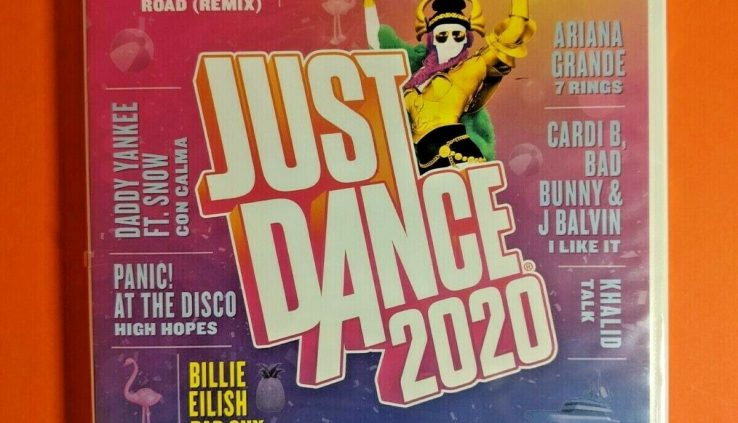 Right Dance 2020 Wii Rate Current Sealed