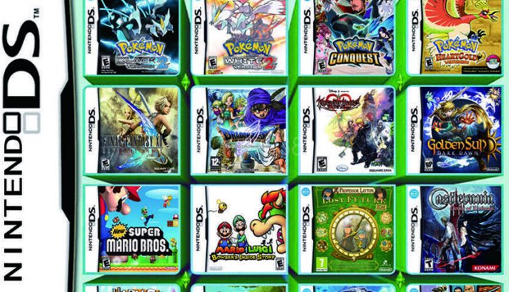 208 in 1 Video games Cartridge Multicart For Nintendo DS NDS NDSL NDSI 2DS 3DS US SHIP
