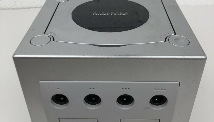 Nintendo GameCube Restricted Edition Platinum Console ONLY DOL-101 Replacement