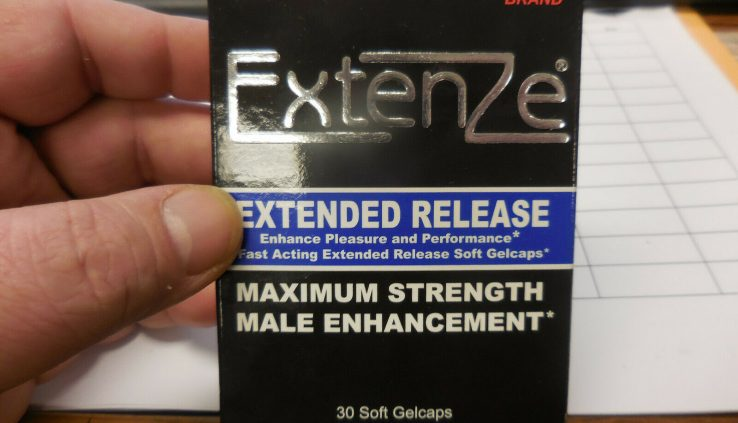 Extenze Most Power Extended Free up 30 Softgels (A)