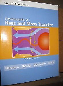 Fundamentals Of Heat And Mass Transfer    by Theodore L Bergman