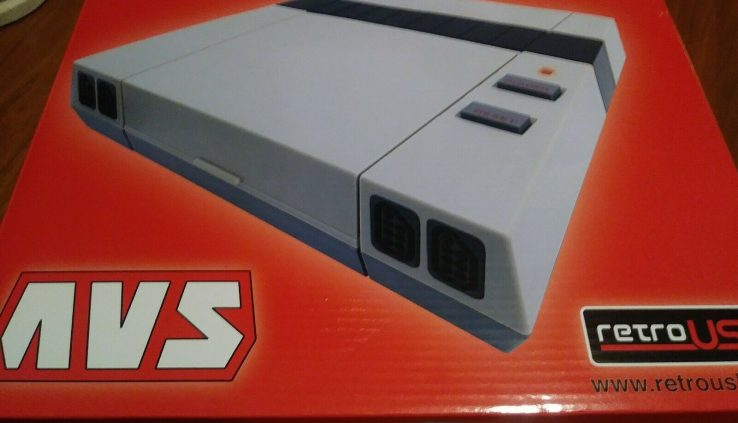 AVS RetroUSB NES Console for Nintendo and Famicom Video games in HD