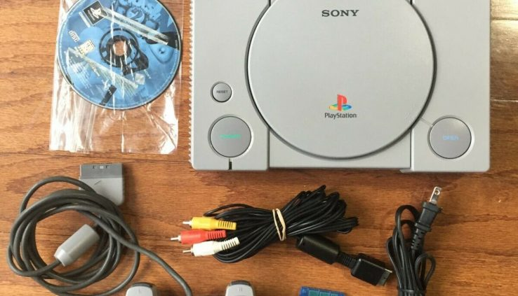 Sony PlaystationOne (PS1) Console SCPH-9001 + Controller + Memory Card