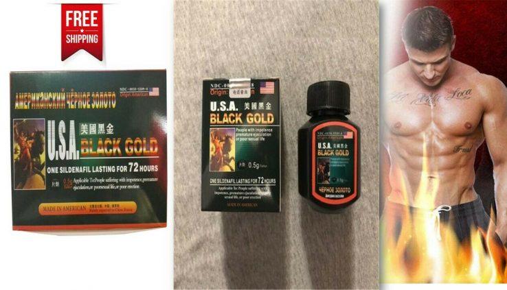 U.S.A. Murky Gold 16 Medicine/Bottle For Males Erection Size Natural Enhancement