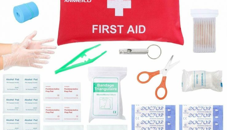 Minute Walk First Again Kit – 76 Allotment Tidy, Address and Protect Most Injuries