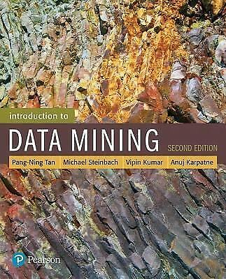 Introduction To Data Mining 2E World Edition