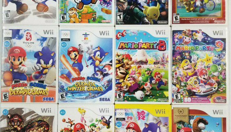 Big Mario Games Wii – TESTED