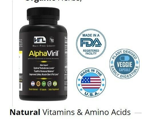 Long-established AlphaViril – Alpha Viril Naturally Attend Libido, Muscle Dimension