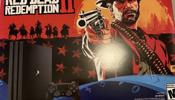 PS4 Skilled 1 TB Red Unnecessary Redemption 2 Bundle