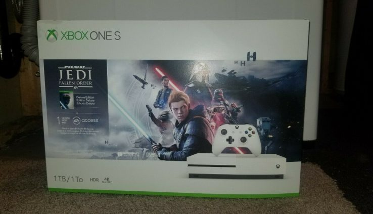 Xbox One S – Unique 1 TB – Star Wars Jedi Fallen Repeat EA