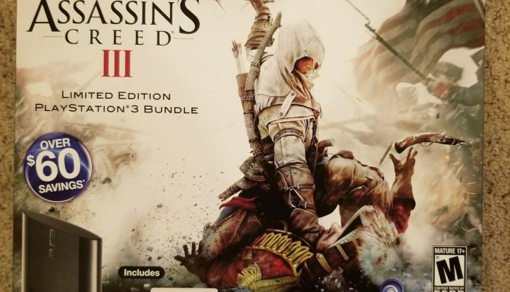 Sony PlayStation 3 Assassin's Creed Bundle Glossy initiate box. PS3